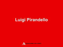 pirandello - Mondadori Education