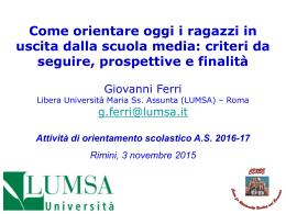 ppt - U.S.P. Rimini