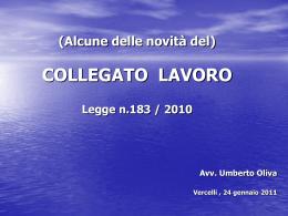 slides - Avv. Oliva - Camera Civile del Foro di Vercelli