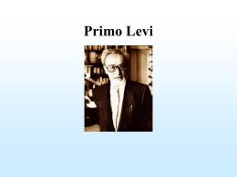 Primo Levi - Giocoscuola