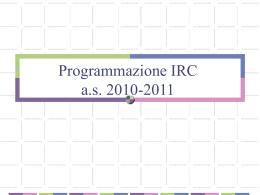 Programmazione (3) - Arcidiocesi di Udine