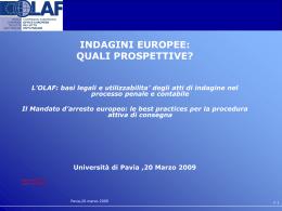 L`OLAF - Università degli studi di Pavia