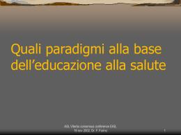 2- i paradigmi in EaS