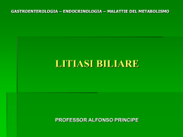 litiasi biliare - Appuntimedicina.it