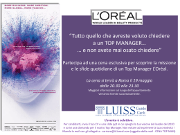 Diapositive 1 - Luiss@Imprese