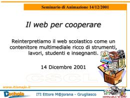 """Cooperative Learning - """"Ettore Majorana"""" di Grugliasco"""