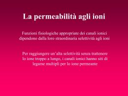 7 Selettivita - Università degli studi di Pavia