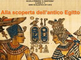 …Antichi Egizi…