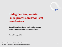 Franceschetti_Indagine campionaria sulle professioni