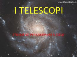 I TELESCOPI - Primo Levi