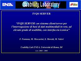 (IVQSS). - Tesionline.it