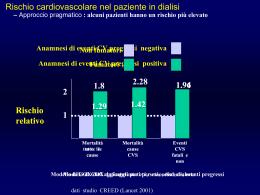 Si può monitorare il rischio cardiovascolare in dialisi peritoneale?