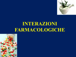 Interazione farmacologiche
