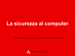 sicurezza_pc - Mondadori Education