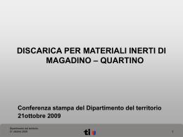 Diapositiva 1 - Repubblica e Cantone Ticino