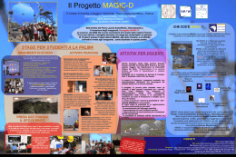 Poster Magic-D - Dipartimento di Fisica e Astronomia