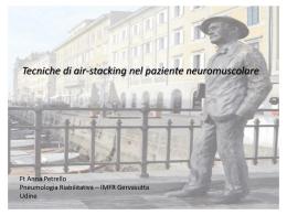 Tecniche di air-stacking nel paziente neuromuscolare