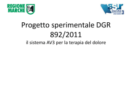 DoloreAV3 Presentazione progetto