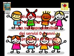 I servizi 0-3 anni in provincia di Rimini