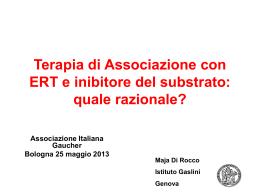 Diapositiva 1 - Associazione Italiana Gaucher