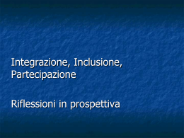 Visualizza slide intervento