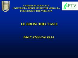 bronchiectasie