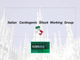 Italian Cardiogenic Shock Working Group