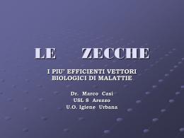LE ZECCHE - Etruria Medica