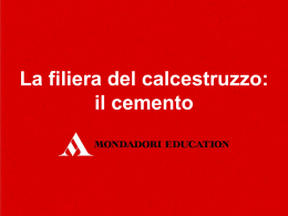 il cemento - Mondadori Education