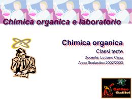 ChimicaOrganicaIntroduzione
