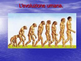 andrea federico evoluzione umana - Home