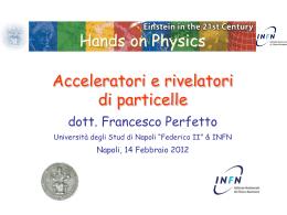 rivelatore di particelle - Napoli