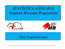STATISTICA ANNO 2009 - Federazione Regionale dei Volontari del