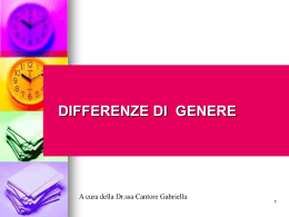 differenze di genere