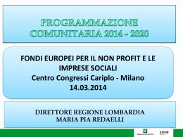 Redaelli - Fondazione Cariplo