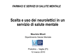 MICELI Uso neurolettici in un SSM