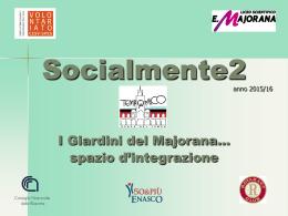 Slide del progetto - Volontariato Lazio