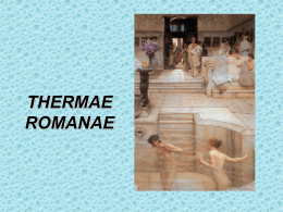 THERMAE ROMANAE