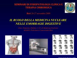 Ricerca mucosa gastrica ectopica (div Meckel)