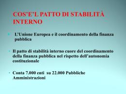 Intervento di Salvatore Bilardo - ANCI Emilia