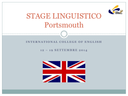 STAGE LINGUISTICO SLIDE