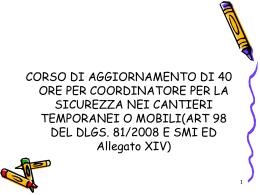 Diapositiva 1 - Ordine degli Ingegneri della Provincia di Arezzo