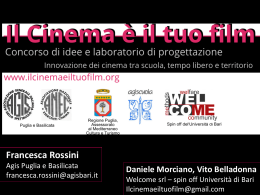 IL CINEMAEILTUOFILM