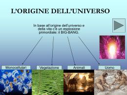 L`ORIGINE DELL`UNIVERSO
