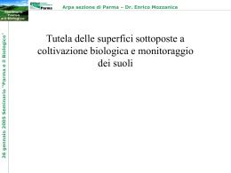 Parma e il Biologico