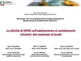 Le attività a livello locale - Coordinamento Agende 21 Locali Italiane
