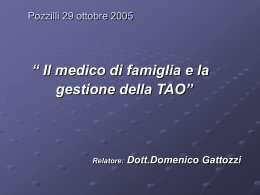 Gestione TAO