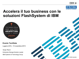 IBM Flash & SVC - Sergio Resch