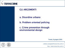 CRIME PREVENTION THROUG ENVIRONMENTAL DESIGN (CPTED)