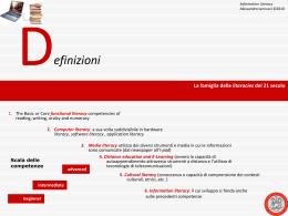 information literacy - Università degli Studi di Ferrara